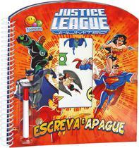 Livro - Escreva e apague licenciados: Justice League unlimited -