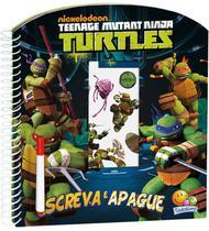 Livro - Escreva e apague licenciados: Ninja Turtles -
