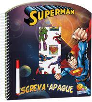 Livro - Escreva e apague licenciados: Superman -