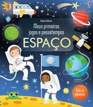 Livro - Espaço : Meus primeiros jogos e passatempos -