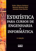 Livro - Estatística Para Cursos De Engenharia E Informática -