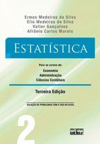 Livro - Estatística para os cursos de economia, administração e ciências contábeis - Vol. 2 -