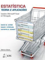 Livro - Estatística - Teoria e Aplicações usando MS Excel em Português -