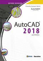 Livro - Estudo dirigido de Autocad 2018 -