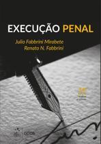 Livro - Execução penal -