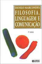 Livro - Filosofia, linguagem e comunicação -