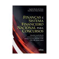 Livro - Finanças E Sistema Financeiro Nacional Para Concursos: Questões Resolvidas -