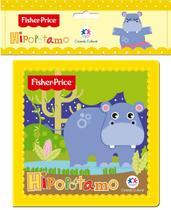 Livro - Fisher-Price - Hipopótamo -