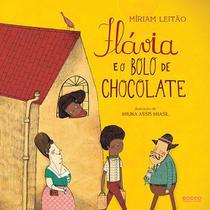 Livro - Flávia e o bolo de chocolate -