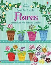 Livro - Flores : Figurinhas transfer -