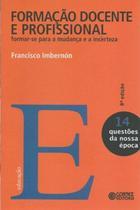 Livro - Formação docente e profissional -