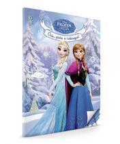 Livro - Frozen Crie, pinte e rabisque -