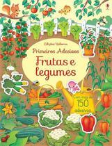 Livro - Frutas e legumes : Primeiros adesivos -