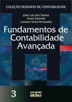 Livro - Fundamentos de contabilidade avançada - Coleção resumos de contabilidade - Vol. 3 - Atlas -