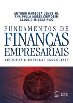Livro - Fundamentos de Finanças Empresariais - Técnicas e Práticas Essenciais -