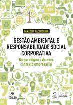 Livro - Gestão Ambiental Responsabilidade Social Corporativa -