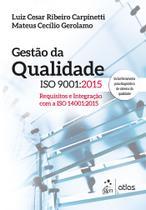 Livro - Gestão da Qualidade ISO 9001: 2015 -