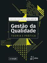Livro - Gestão da Qualidade - Teoria e Prática -