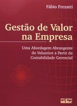 Livro - Gestão De Valor Na Empresa -