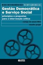 Livro - Gestão democrática e serviço social -