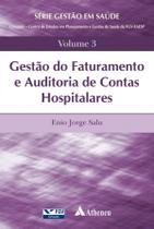 Livro - Gestão do faturamento e auditoria de contas hospitalares -