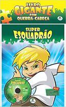 Livro gigante com quebra-cabeça - Super Esquadrão - Brasileitura