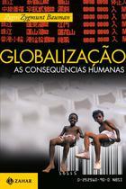 Livro - Globalização: as consequências humanas -