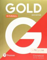 Livro - Gold B1 Preliminary New Edition Coursebook with MyEnglishLab -