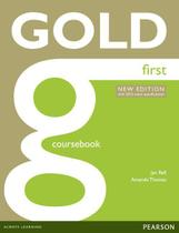 Livro - Gold First New Edition Coursebook -