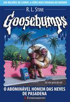 Livro - Goosebumps 20 - O Abominável Homem Das Neves De Pasadena -