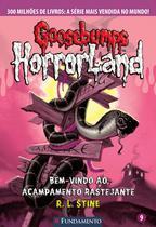 Livro - Goosebumps Horrorland 09 - Bem-Vindo Ao Acampamento Rastejante -