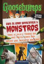 Livro - Goosebumps O Filme - Guia De Como Sobreviver A Monstros -