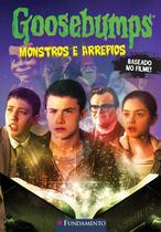 Livro - Goosebumps O Filme - Monstros E Arrepios -