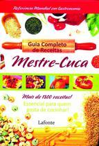 Livro - Guia completo de receitas mestre Cuca -