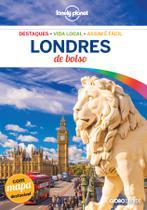 Livro - Guia Lonely planet Londres de bolso -