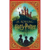 Livro - HARRY POTTER E A PEDRA FILOSOFAL (Ilustrado por MinaLima) -