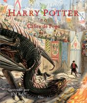 Livro - Harry Potter e o cálice de fogo - EDIÇÃO ILUSTRADA -