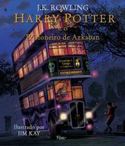 Livro - Harry Potter e o prisioneiro de Azkaban - Ilustrado -