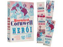 Livro Herói - As Crônicas de Starbuck Vol. 4 - Bernard Cornwell com Marcador de Página