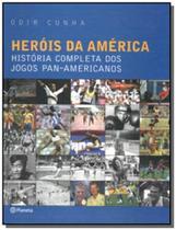 Livro - Heróis da América -