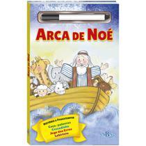 Livro - História Bíblica e passatempos - Escreva e apague: Arca de Noé -