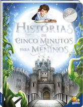 Livro - Histórias de cinco minutos para meninos -