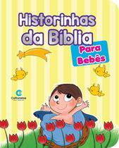 Livro - HISTORINHAS DA BIBLIA PARA BEBES -