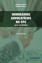 Livro - Honorários advocatícios no CPC -
