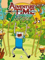Livro - Hora de Aventura - Colorindo a terra de Ooo -