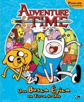 Livro - Hora de Aventura - Uma busca épica na terra de Ooo -