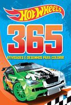 Livro - Hot Wheels - 365 atividades e desenhos para colorir -