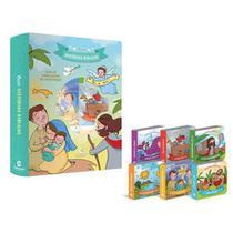 Livro Infantil Bíblia Box Com 6 Minilivros De Histórias - culturama