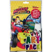 Livro Infantil Colorir Mickey ART PACK C/ADES/LAPIS - Dcl