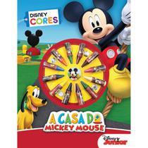 Livro Infantil Colorir Mickey Cores - Planeta Criança